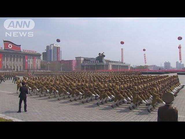 平昌オリンピック直前 北朝鮮が軍事パレード実施へ(18/02/08)
