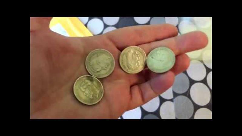 Распаковка посылок с сайта Aliexpress №170-172 серебро и золото из Китая