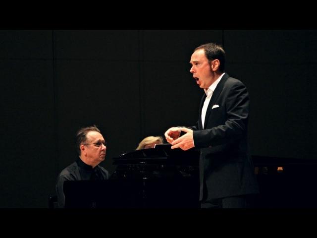 Schubert - Winterreise - Genz Pletnev (live in Moscow, 2016)