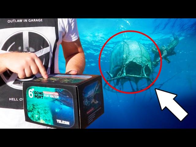 Блогер GConstr в восторге! Купол, чтобы снимать под водой. От Тимура Сидельникова