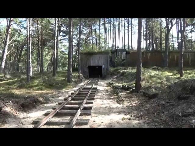 Wojskowa Kolej Wąskotorowa na Helu/ Old military narrow gauge train