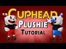 DIY Cuphead Mugman Plushies FREE PATTERN Sock Plush Tutorial