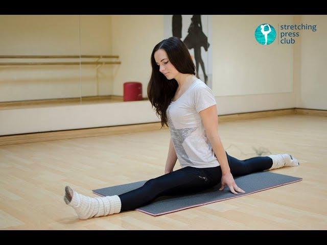 Растяжка на продольный шпагат - комплекс упражнений