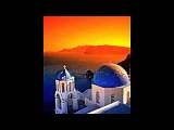 Santorini Sunset by Pavlo