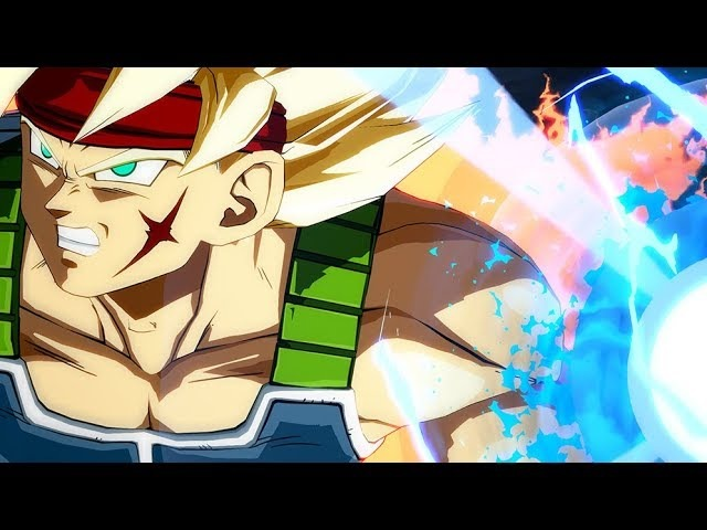 Dragon Ball FighterZ: Bardock and Broly First Footage (DLC Characters)