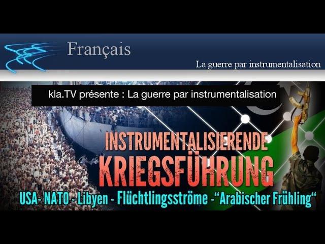 La guerre par instrumentalisation | Français | 19ème Septembre 2015 | www.kla.tv