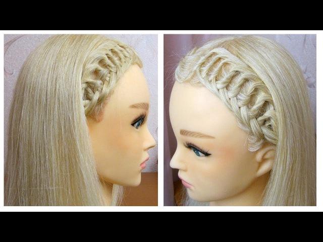 Tuto coiffure pour tous les jours (pour lécoletravail) ✨ Tresse simple et rapide ✨ facile à faire