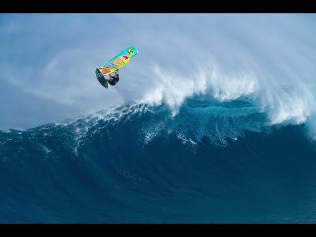 Jason Polakow - Windsurfing Jaws on an El Niño Swell