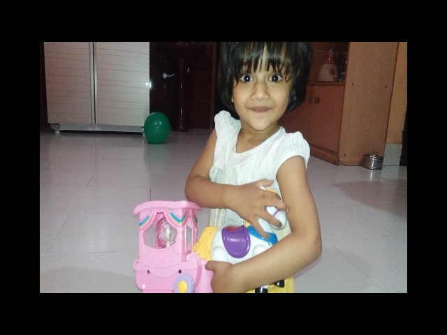 Jannat Is Playing With Her Toys Horse Cart || kids Toy || Jannat Is Playing With Her Kids Toy