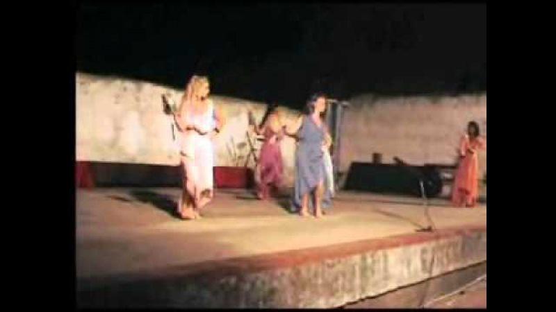 Ninfe Nereidi - Notti di cicerone 2011- Formia -danza antica romana