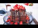 What I Eat In A Day #70 | Vegan Chocolate Pancake Recipe!