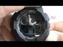 Обзор. Casio G-Shock GA-100-1A1 Ga 100 оригинал купить