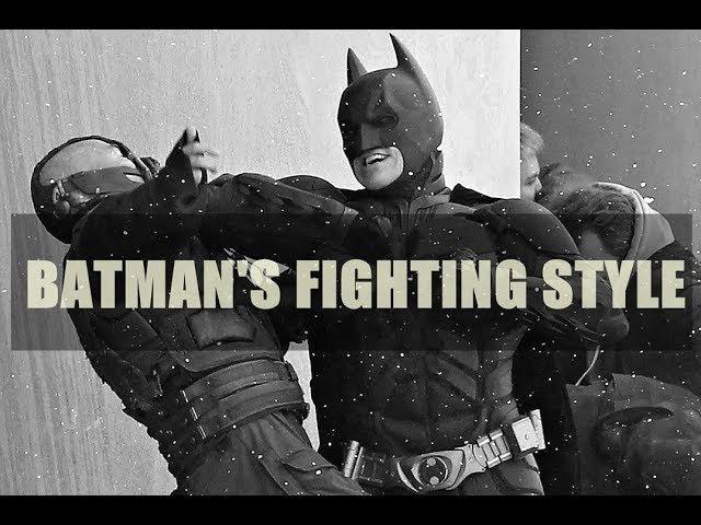 Как драться как бэтмен. Стиль Кейси. Keysi Fighting