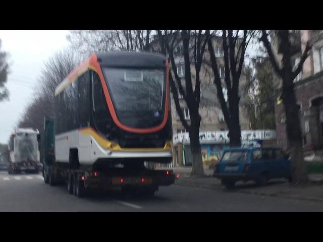 Крутой трамвай покинул Днепродзержинск