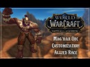 Mag'har Orc Allied Race Customization Battle for Azeroth Patch 8 0 1