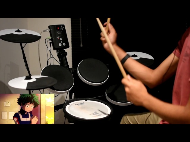 Boku no Hero Academia OP Full -【The Day】by Porno Graffitti - Drum Cover