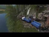 Мод грузовик ЗиЛ 4331 с прицепом Фарминг Симулятор 2017