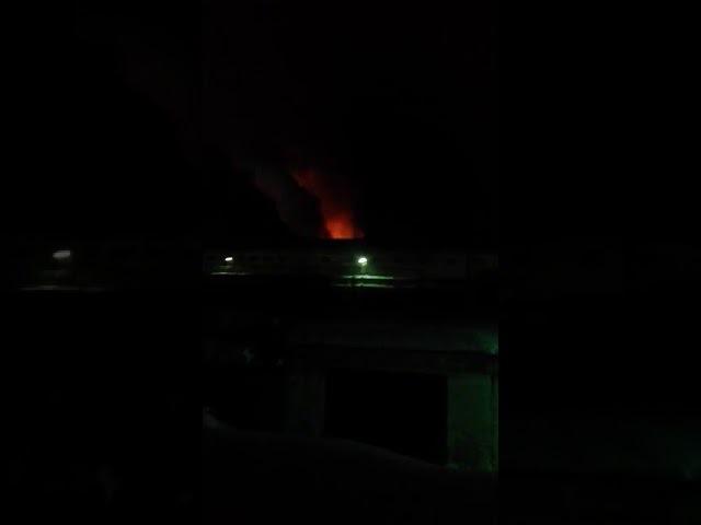 Пожар в ИК 3 в Томске