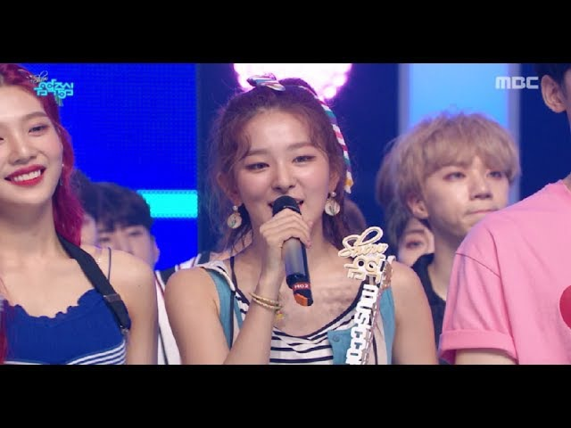 [HOT] 7월 3주차 1위 '레드벨벳 - 빨간 맛 (Red Velvet - Red Flavor) ' Show Music core 20170722