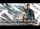 [4K] Quantum Break Xbox One X vs Xbox One: First Look!