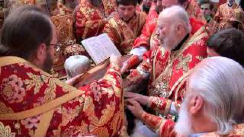Хіротонія архім. Антонія в єпископа Бородянського