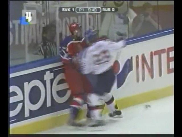 2002 год. Финал чемпионата мира. Россия - Словакия.