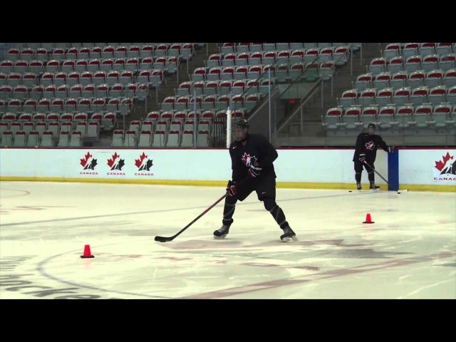 Puck Control - Neutral Zone Agility