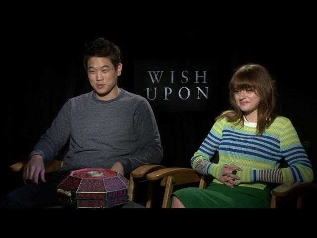 Wish Upon - Joey King Ki Hong Lee Full Interview