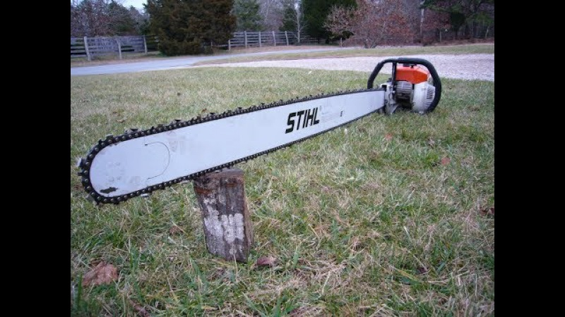 The Biggest, Longest and Strongest CHAINSAWS