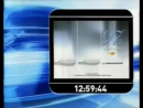 Заставка, часы и начало новостей RTP1 Португалия, 18.01.2008