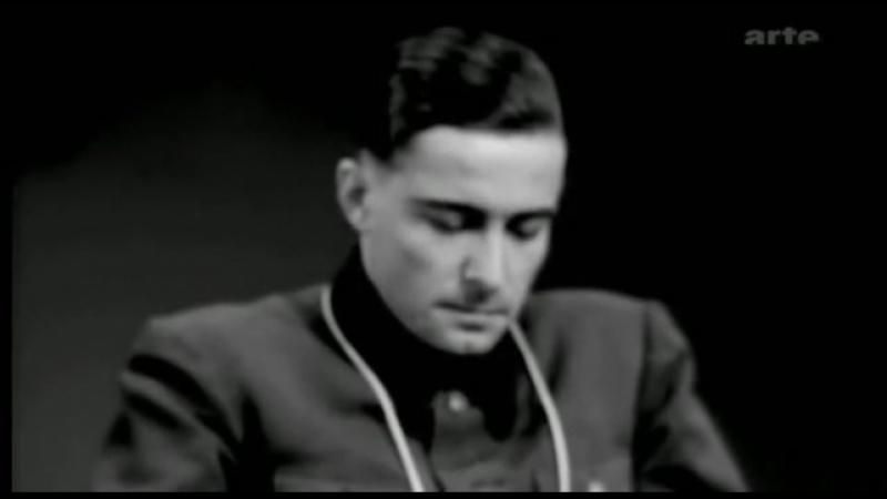 Иоахим Пайпер на допросе процесса Мальмеди