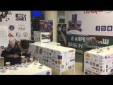Первая пара участников отборочного чемпионата по Кап Тестингу Артем Евреинов (Espressia) и Иван Белоусов (CoffeeJuice)