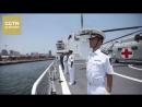 В Луанде встретили плавучий госпиталь ВМС НОАК Мирный ковчег
