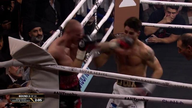 George Groves vs Jamie Cox Full Fight 720p@50fps
