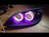 RGB ангельские глазки Mazda 3