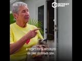 Женщина выходила парализованного енота (6 sec)