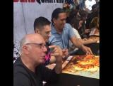 Дэниел и каст БХМ на автограф-сессии в рамках Комик-Кона в Сан-Диего, Калифорния, США  22.07.17