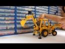 LEGO Technic 8862 - модель экскаватора JCB