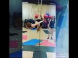 Тренировка pole dance studio YeS