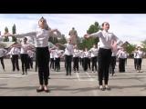 Молодежный патриотический флешмоб «Республика. Молодежь. Победа.» Лутугино 5 мая