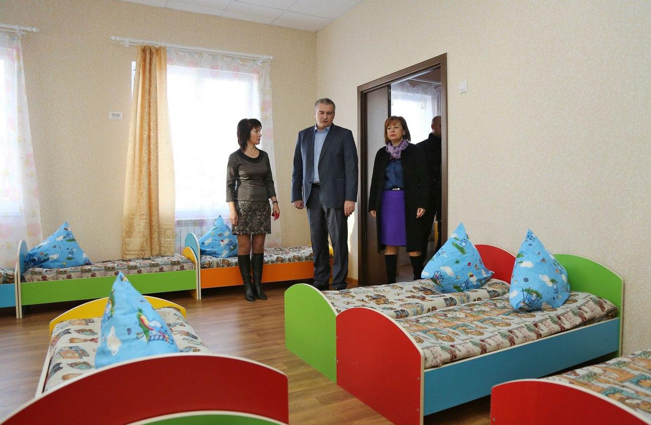 В Крыму сократилась очередь в детские сады