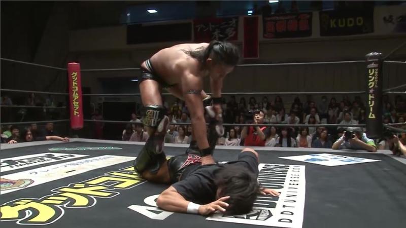 Akito vs. Tetsuya Endo (DDT - KING OF DDT 2017)