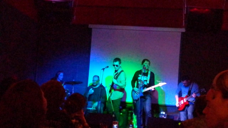 Концерт в клубе Горох, группа Биохимия, Воцик