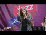 Саша Фрид на сцене Jazz Kids фестиваля Усадьба Jazz в Архангельском 1 июля