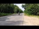 Тренировка чемпиона мира по мото/фристайлу в городе Железнодорожном.