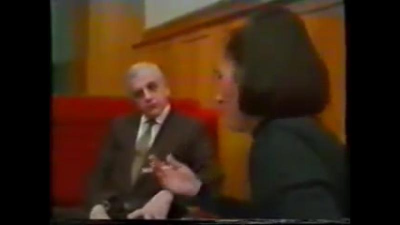 Интервью Звиада Гамсахурдия и Джохара Дудаева перед пресс-конференцией. Грозный [18.2.1992]