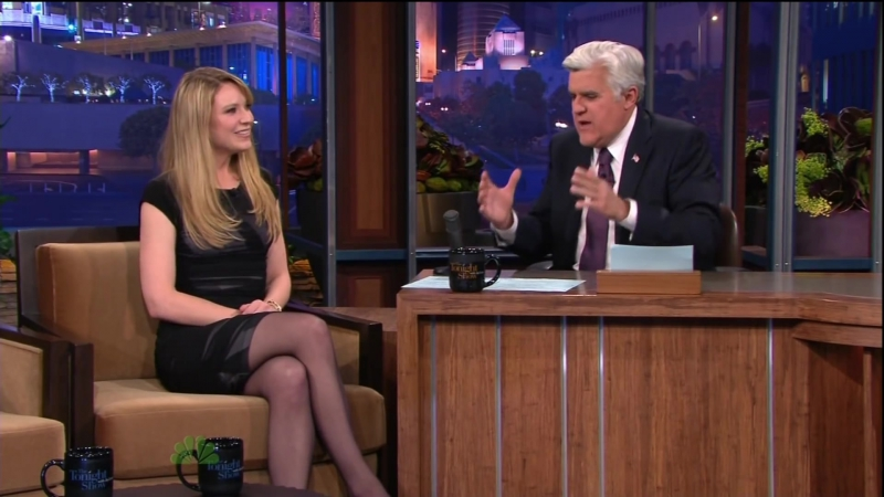 Anna Torv on The Tonight Show With Jay Leno