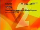 Начало эфира TVP2 Польша 11 02 2009