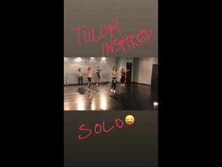 Lissa Bankston on Instagram Stories 26.01.18