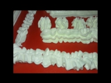 как сделать узоры из крема для торта видео урок 7